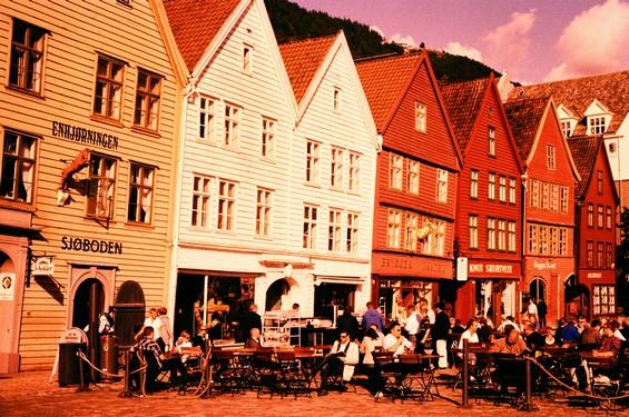Bryggen et le vieux port