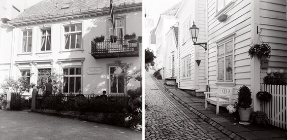 old houses of Bergen