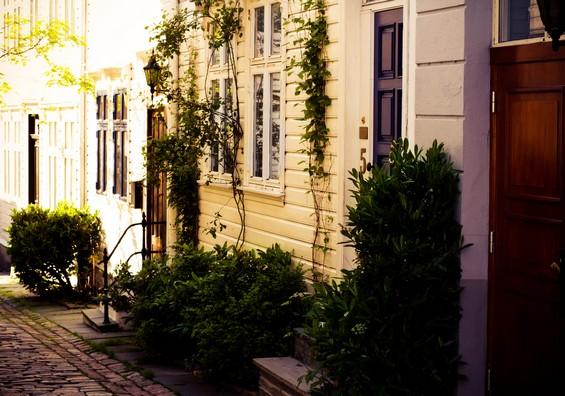 Bergen city Houses