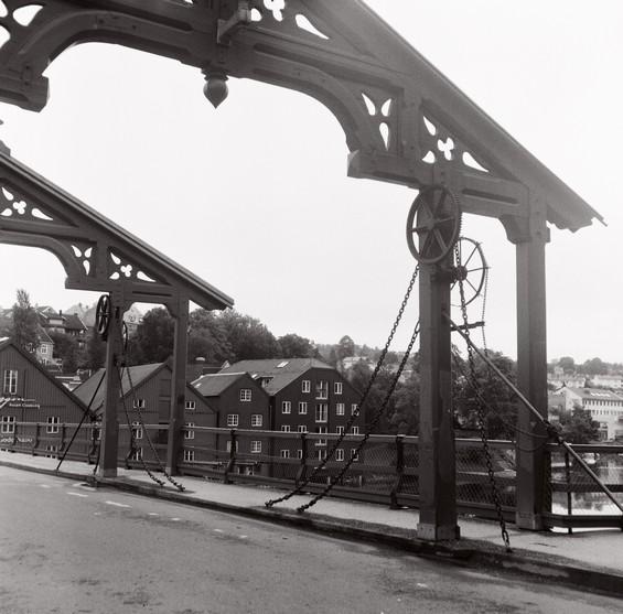 Pont de bois ancien