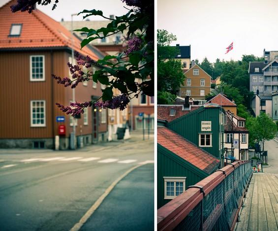 Jolis maisons colorées