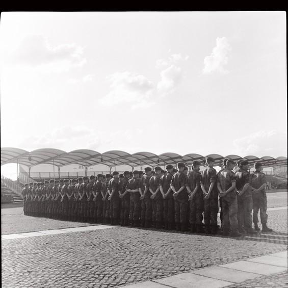 Militaires en rang