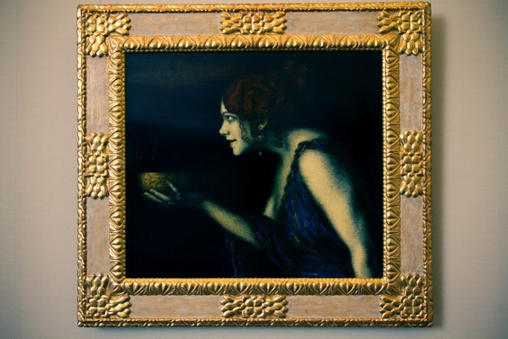 "Tableau ""Tilla Durieux Depicting Circe"""