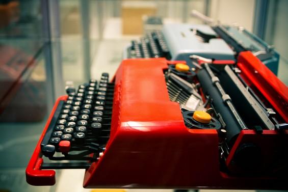 anciennes machines à écrire