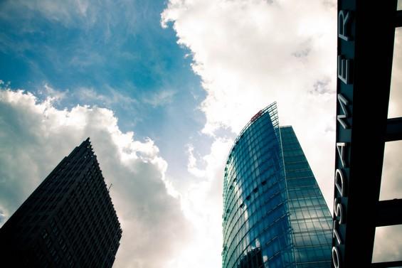 Entre ciel et Buildings