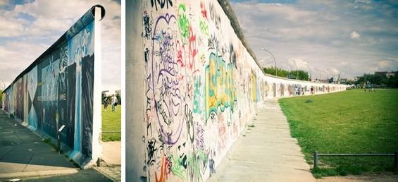 vue extérieur et intérieur, fin du mur