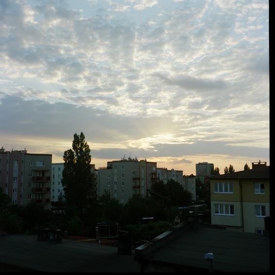 Coucher de soleil polonais