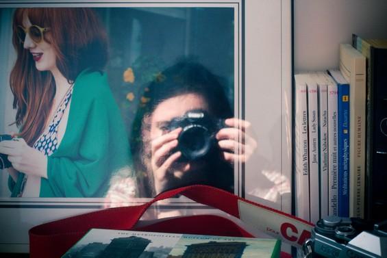 Autoportrait au reflet