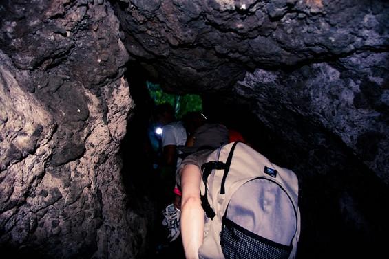 Passage rocheux pour les Aigrettes