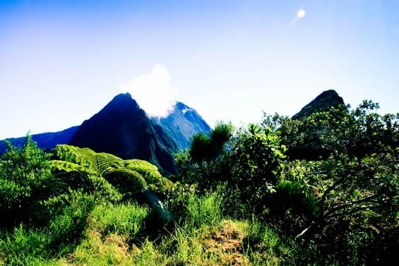 Entre montagnes et ciel