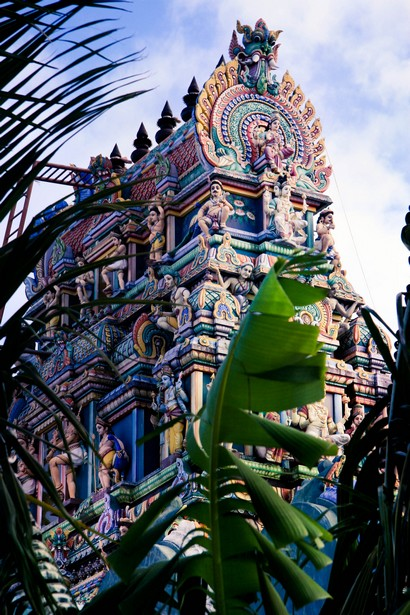 Vue des hauteurs du Temple