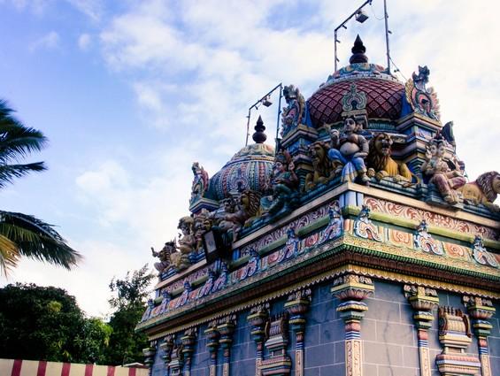 Décoration de petits temples