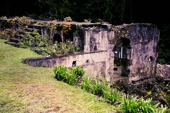 les ruines des thermes