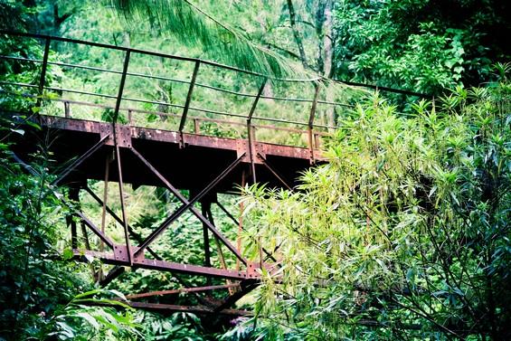vieux pont de fer