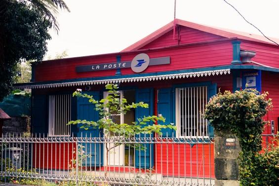 bureau de poste réunionnais