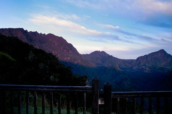 vue de la vallée au réveil !