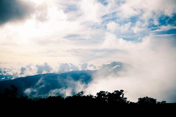 au coeur des nuages, au plus près du ciel
