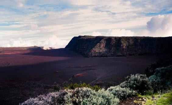 vue depuis les hauteurs de la plaine des sables