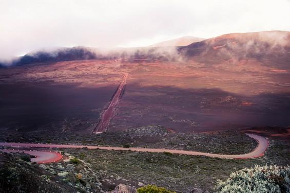 les hauteurs de la Plaine des Sables