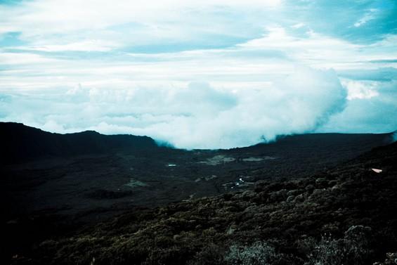 vue depuis le gîte du Volcan