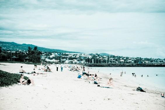 pause détente à la plage