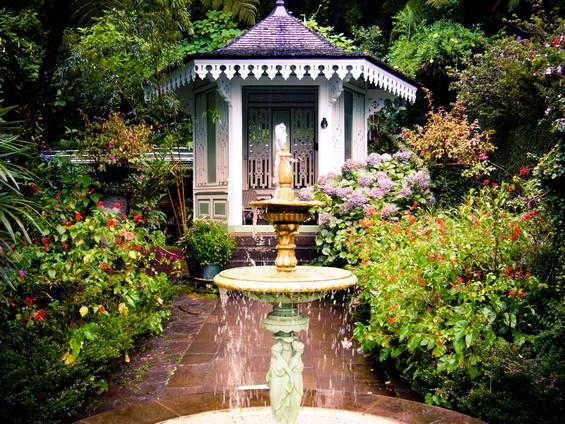 vue du jardin de la maison folio