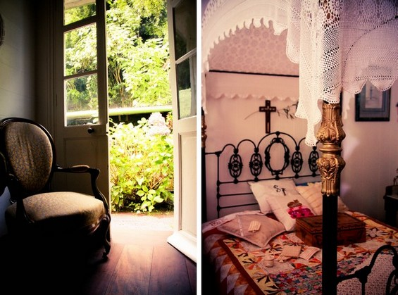 vue intérieure de la chambre, maison Folio