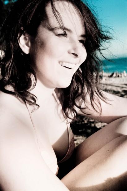 autoportrait à la plage