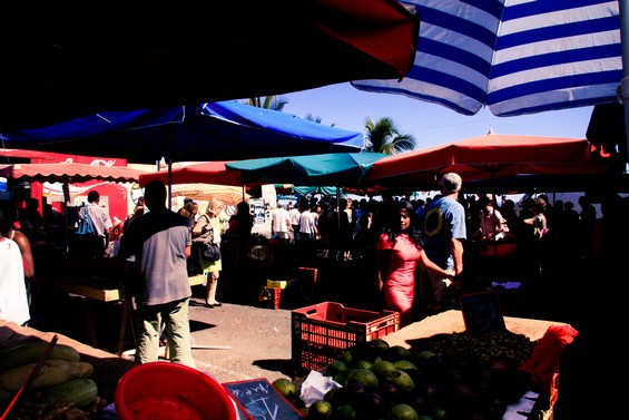 balade au marché