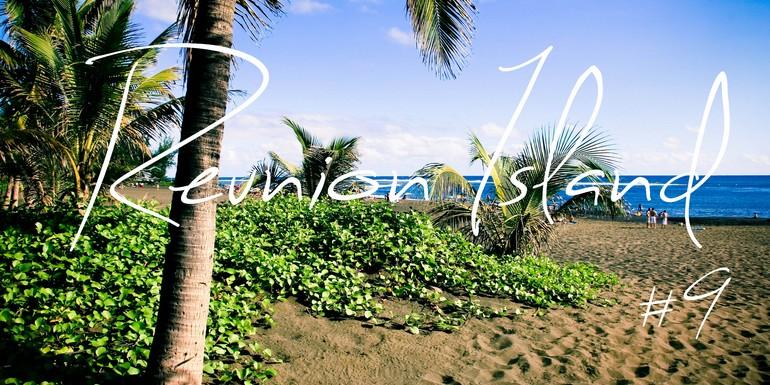 La Reunion, entre virée au Large, Tortue attachante et coucher de Soleil à la plage.