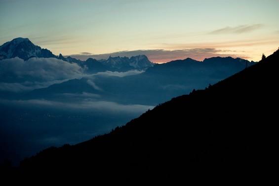 randonnée pour le Mont Blanc