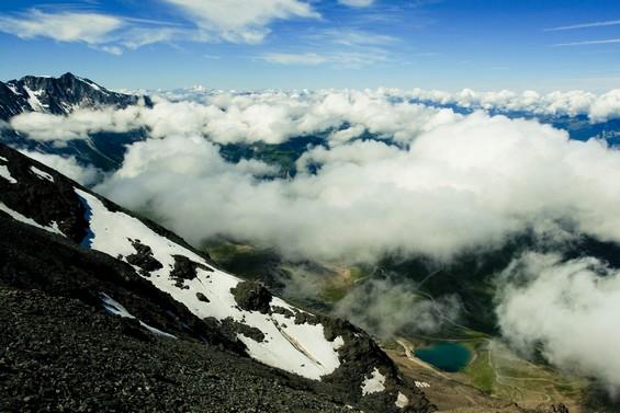 Au delà des nuages, sur les plus hauts sommets