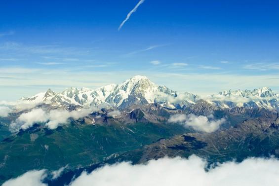 vue du Mont Blanc <3