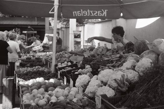Dworcowa, marché polonais