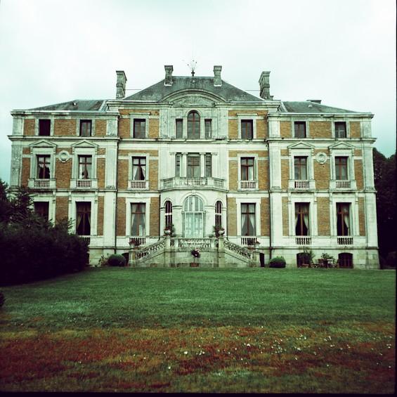 Le palais coté jardin