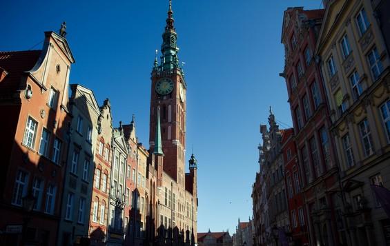 Avenue principale de la vieille ville