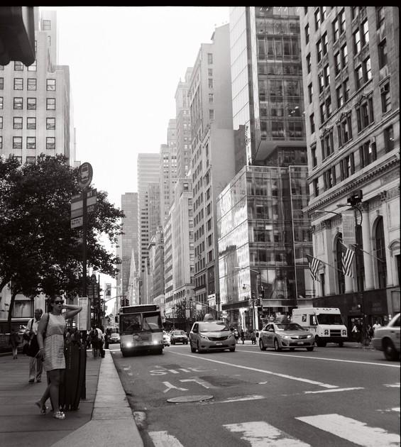 La ville s'éveille