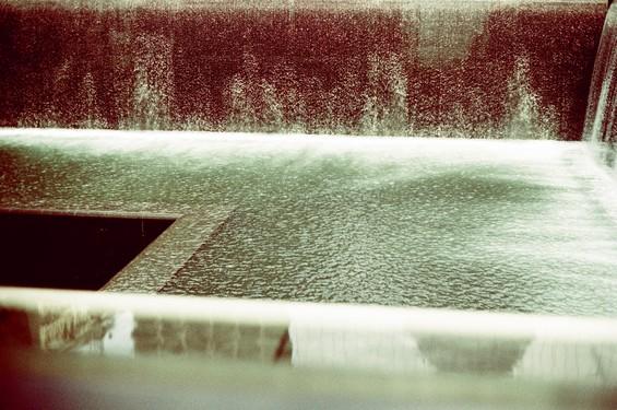 Fontaine, souvenir du WTC