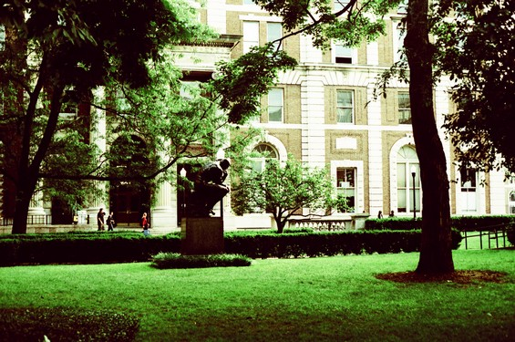 Jardin de l'université