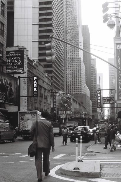 Times Square au petit matin