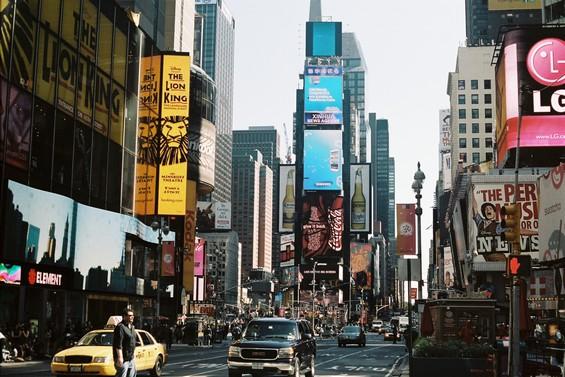 Le faste de Times Square