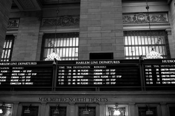 Harlem Line Departures