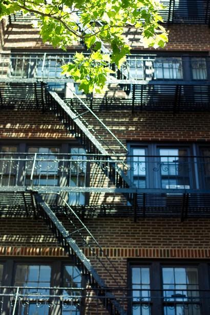 Les fameux immeubles et leurs escaliers de secours