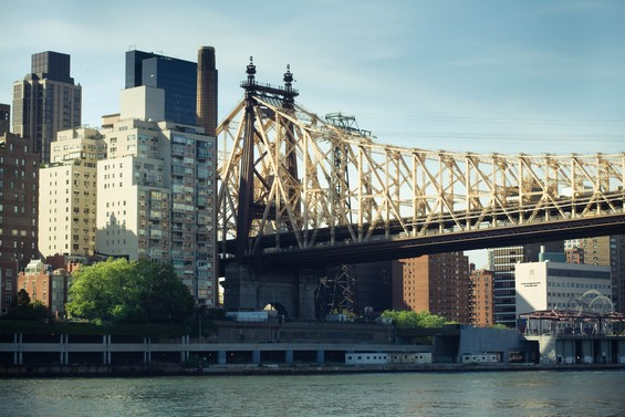 La vue sur Manhattan depuis Roosevelt Island