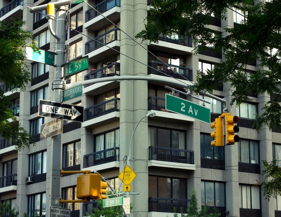 Les rues new-yorkaises
