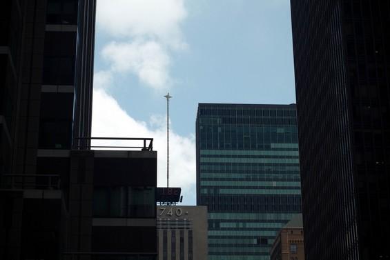 la vue depuis la terrasse de l'hotel