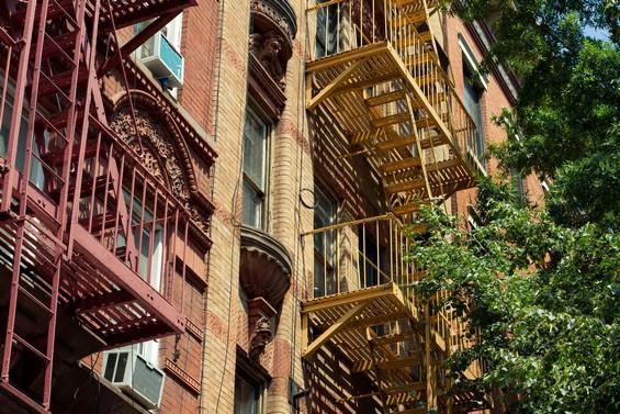 Entre briques et verdure, East Village