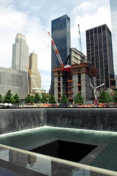Au coeur du site du WTC