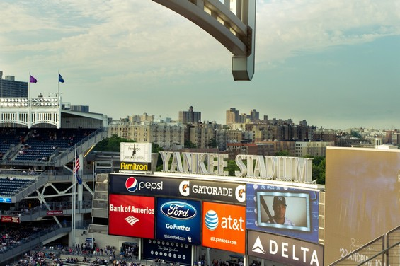 vue du yankees stadium
