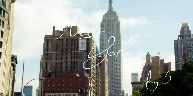 To New-york with…le dépaysement de Chinatown, le soleil de Little Italy, la froideur de Financial District, l'émotion de Ground Zero, l'éducation de Columbia et l'engouement des Yankees ! – #DayV.